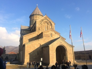 The Cathedral in Mtskheta.